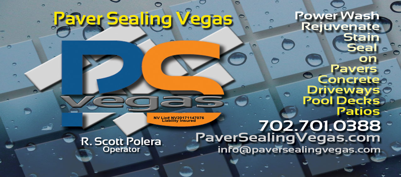 Paver Sealing Vegas is your only choice
